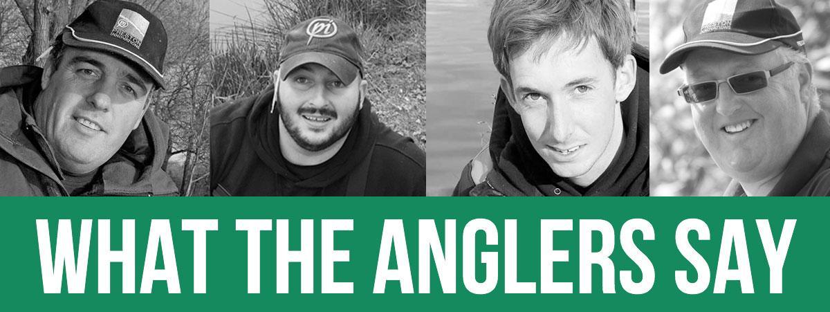 Read the Anglers Testimonials